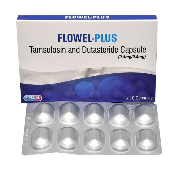 Flowel Plus for Management of Enlarged Prostate